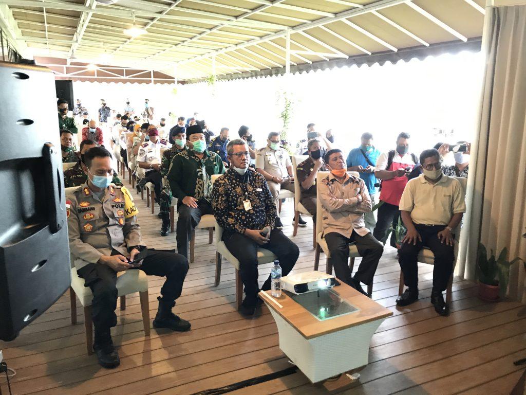 Kunjungan Bupati Bintan melihat kesiapan Bintan Resorts menuju New Normal
