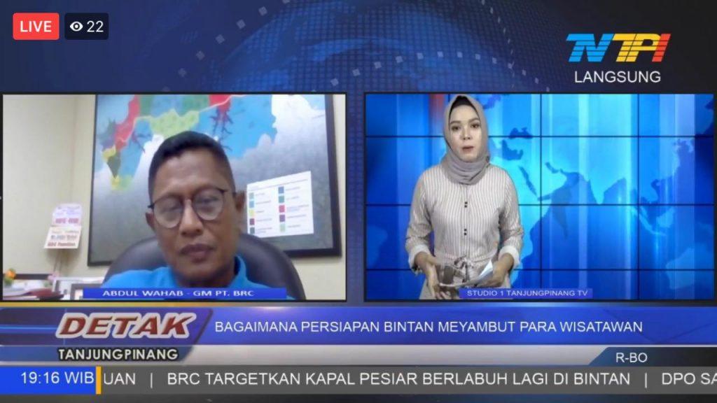 Wawancara TV Tanjungpinang Bintan Resorts Menyambut Wisatawan